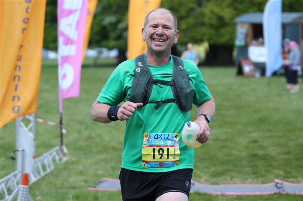 Running man Tristan is training to be as strong as an Ox for an epic race in May to raise money for charity