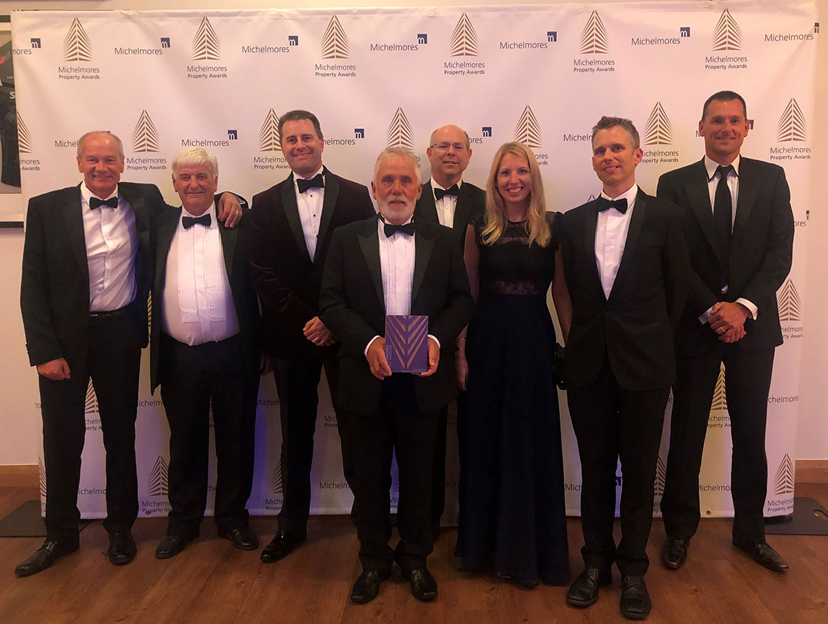 BAKER ESTATES WINS BEST RESIDENTIAL PROJECT AT MICHELMORES PROPERTY AWARDS