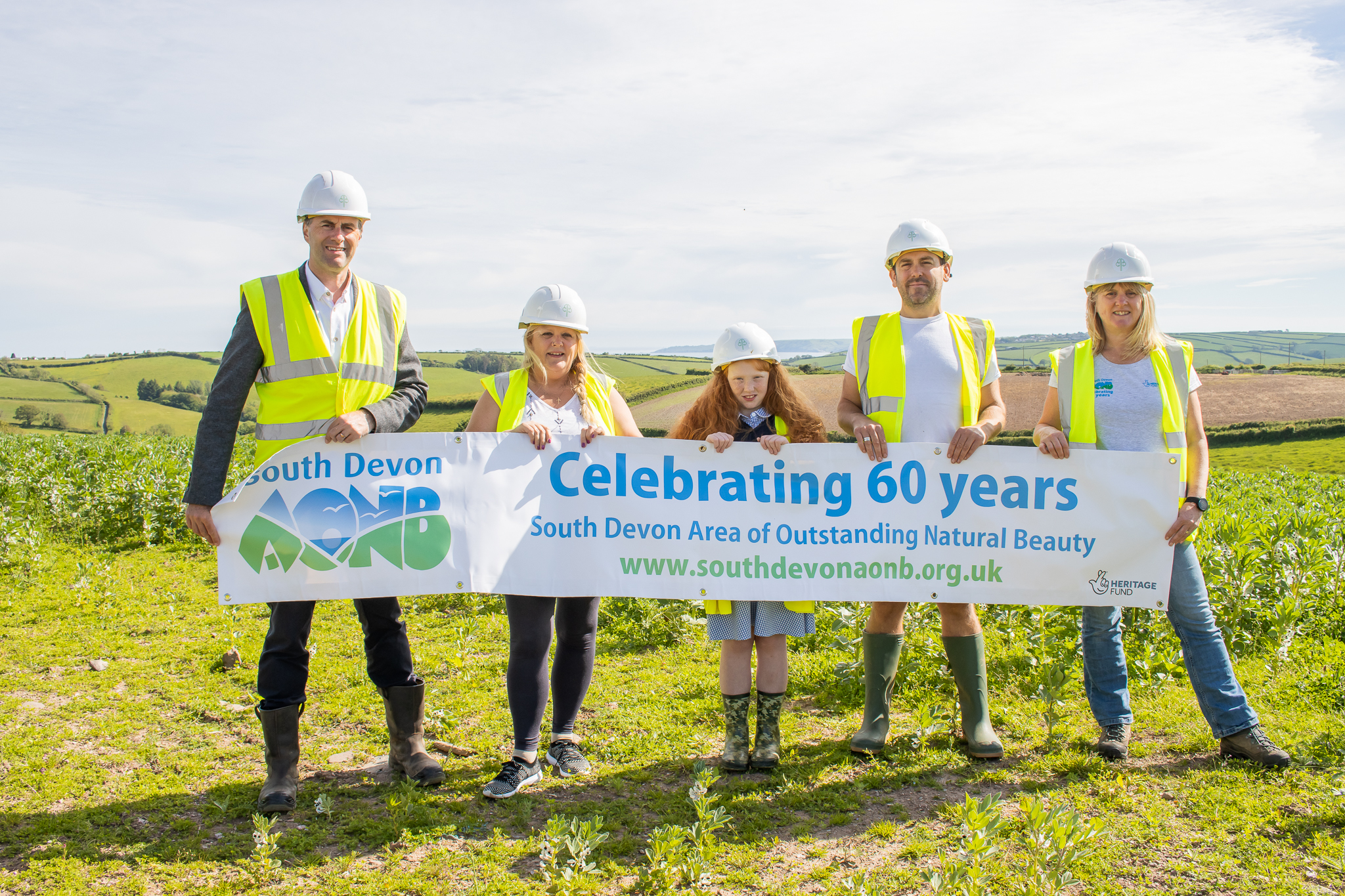 Housebuilder Baker Estates sponsors the AONB team to reward local young carers with fun days out along the coast