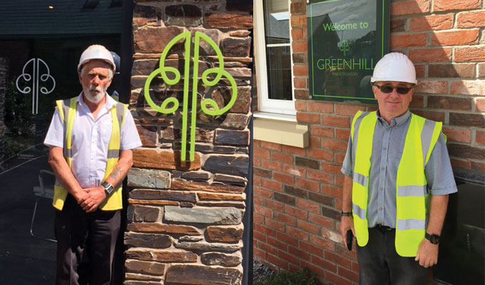 Industry Recognition By The NHBC For Two Baker Estates Site Managers