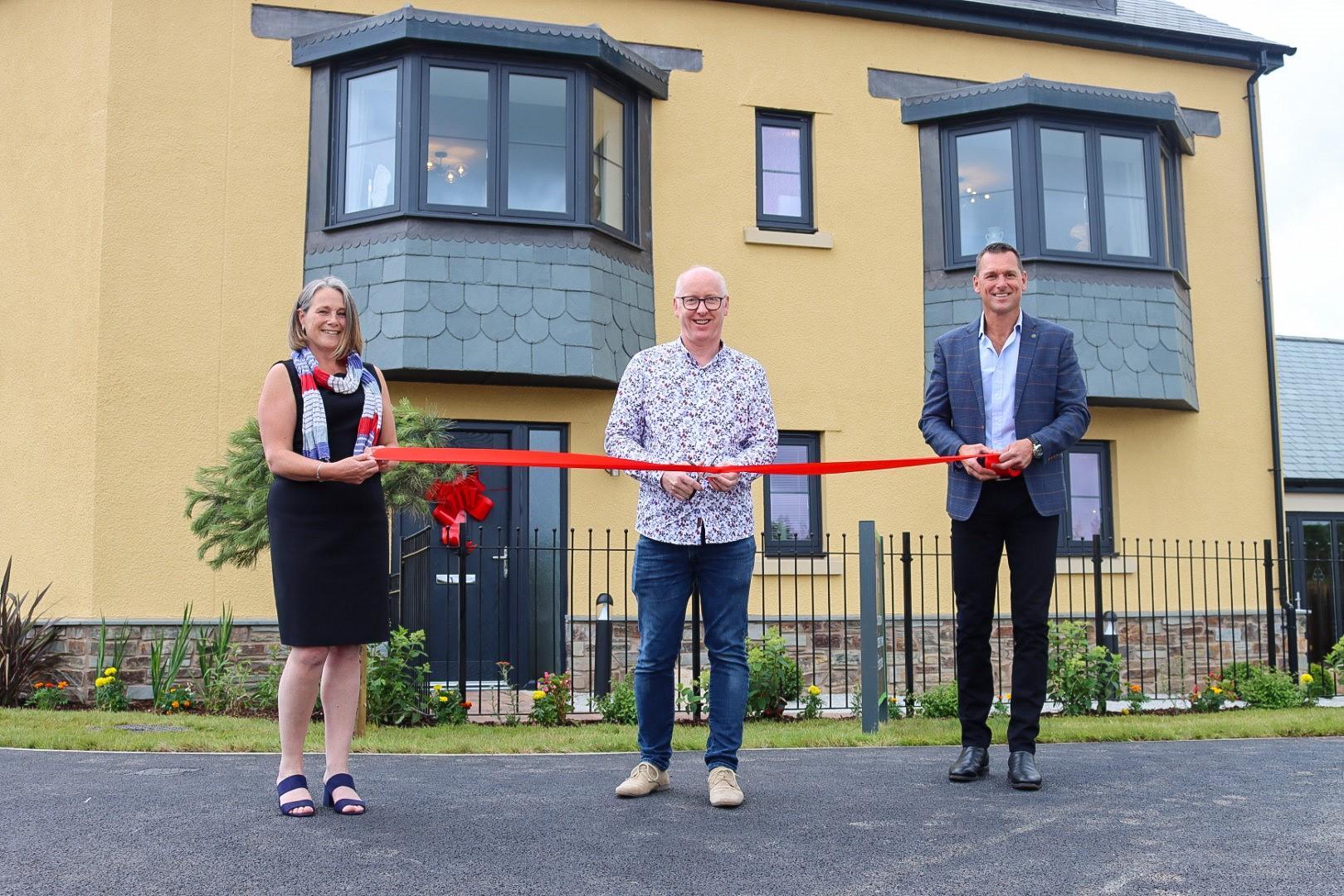 Little Cotton Farm's first resident is guest of honour at official opening of Show Homes in Dartmouth