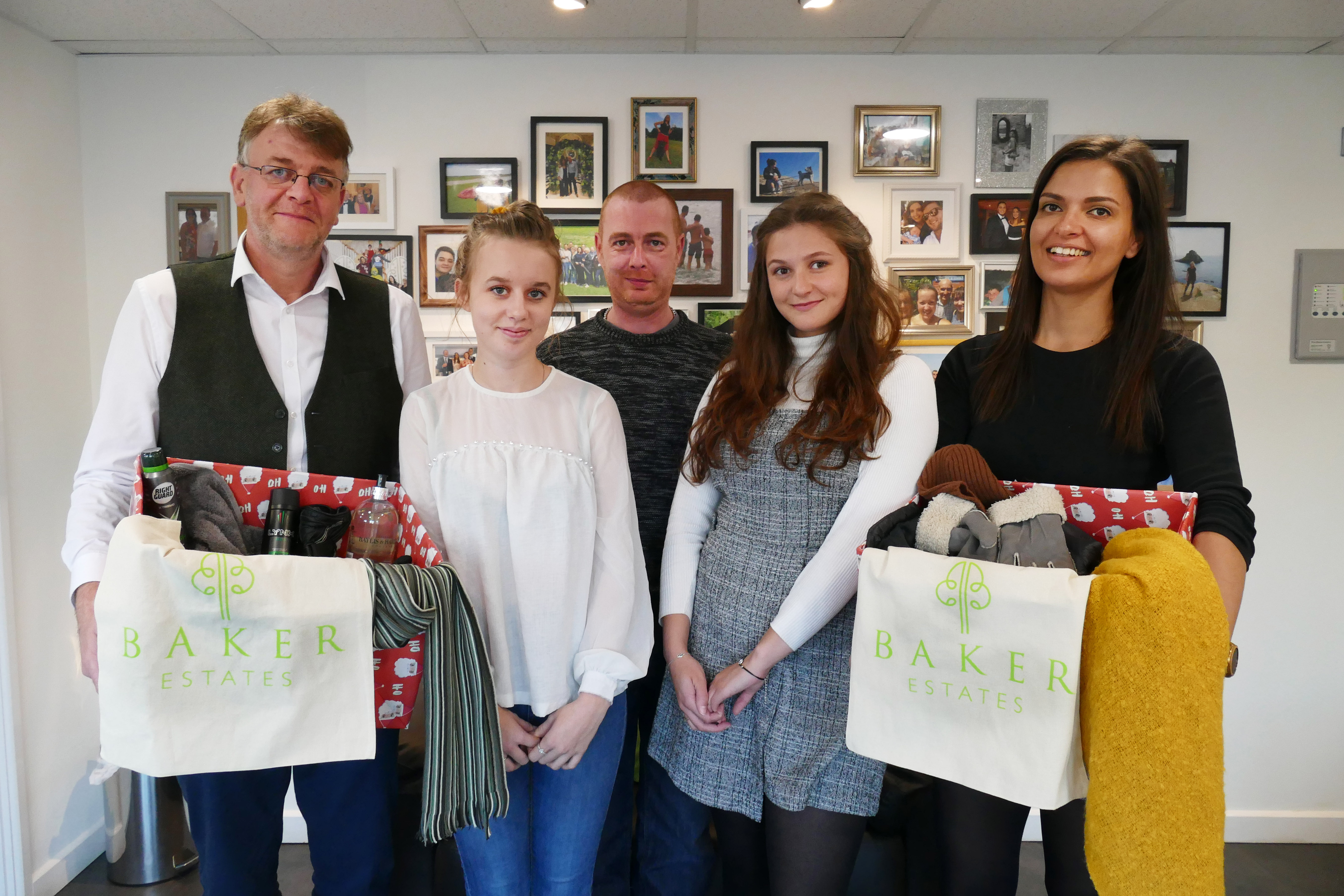Baker Estates appeals to charities to come forward to take a share of £2,000 pledged to help the homeless this Winter