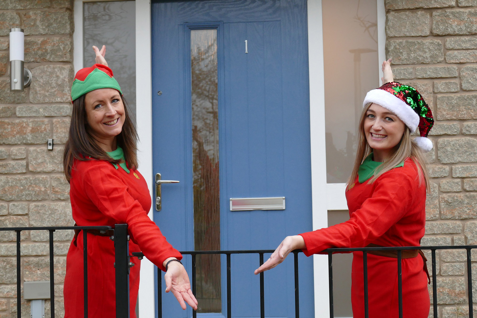 Baker Estates captures Christmas magic with Santa wonderland event in Honiton