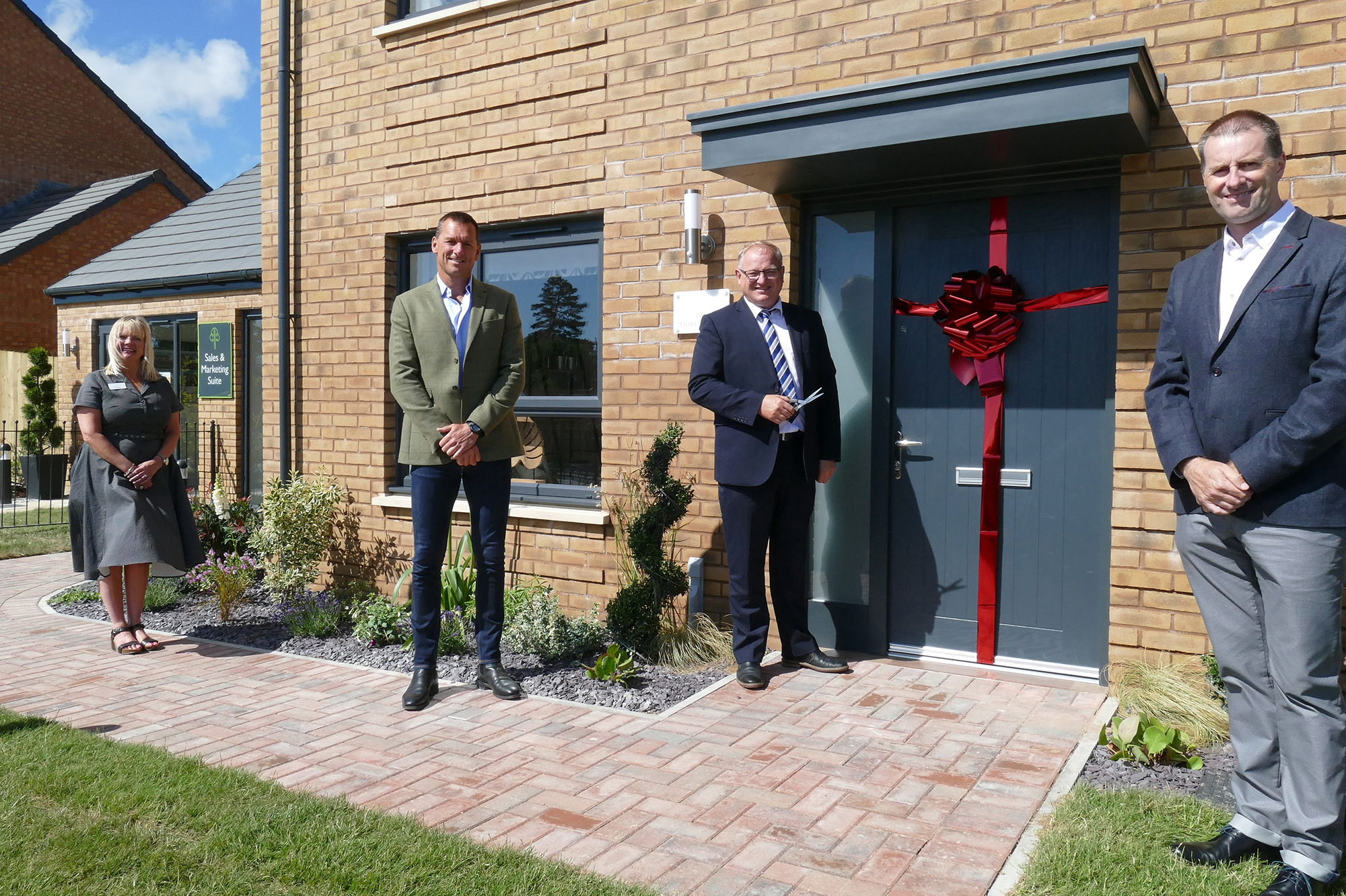 Councillor officially opened 'outstanding' new development in Barnstaple