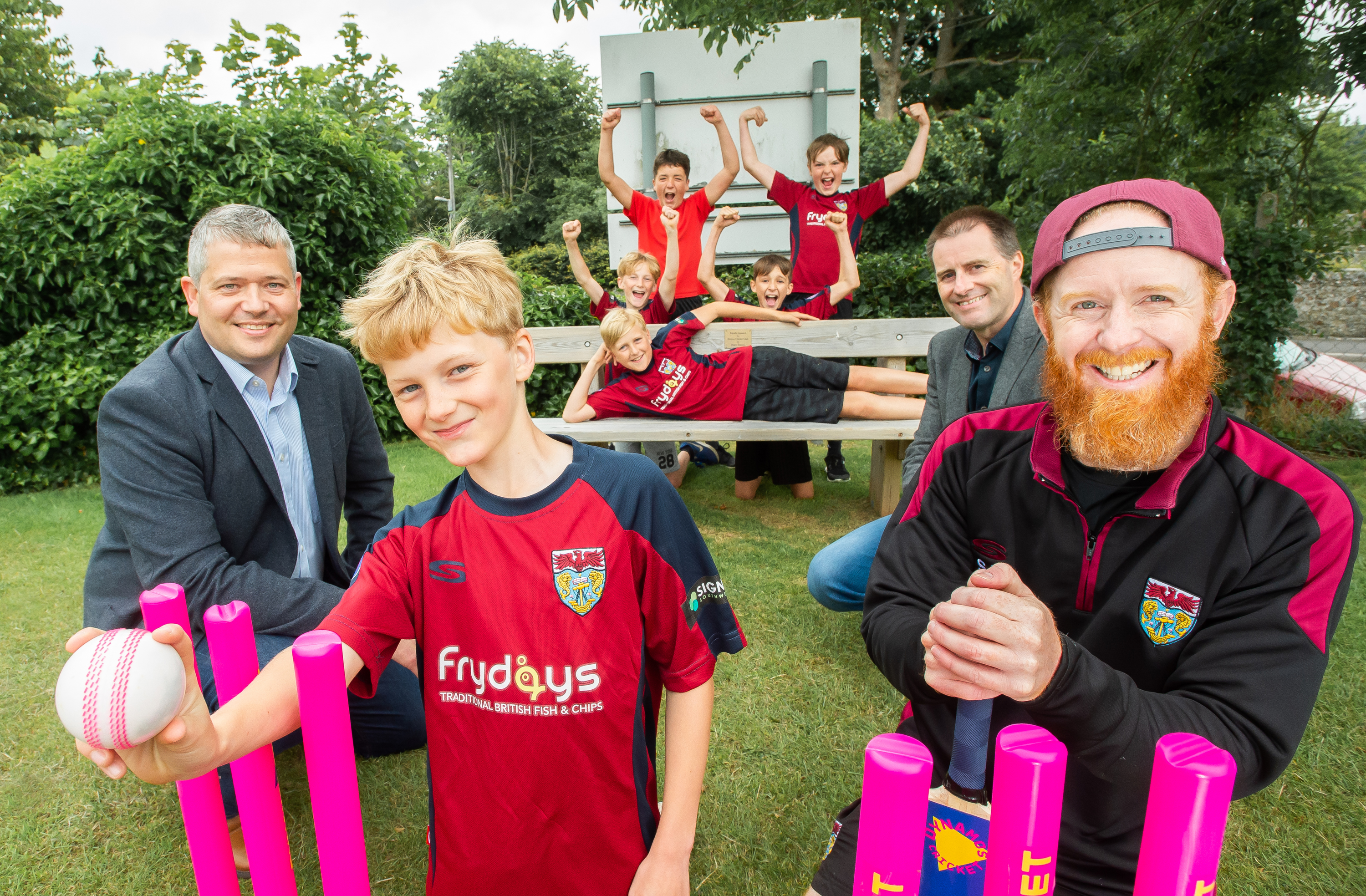 Seaton Cricket club 'bowled over' by gesture from local housebuilder