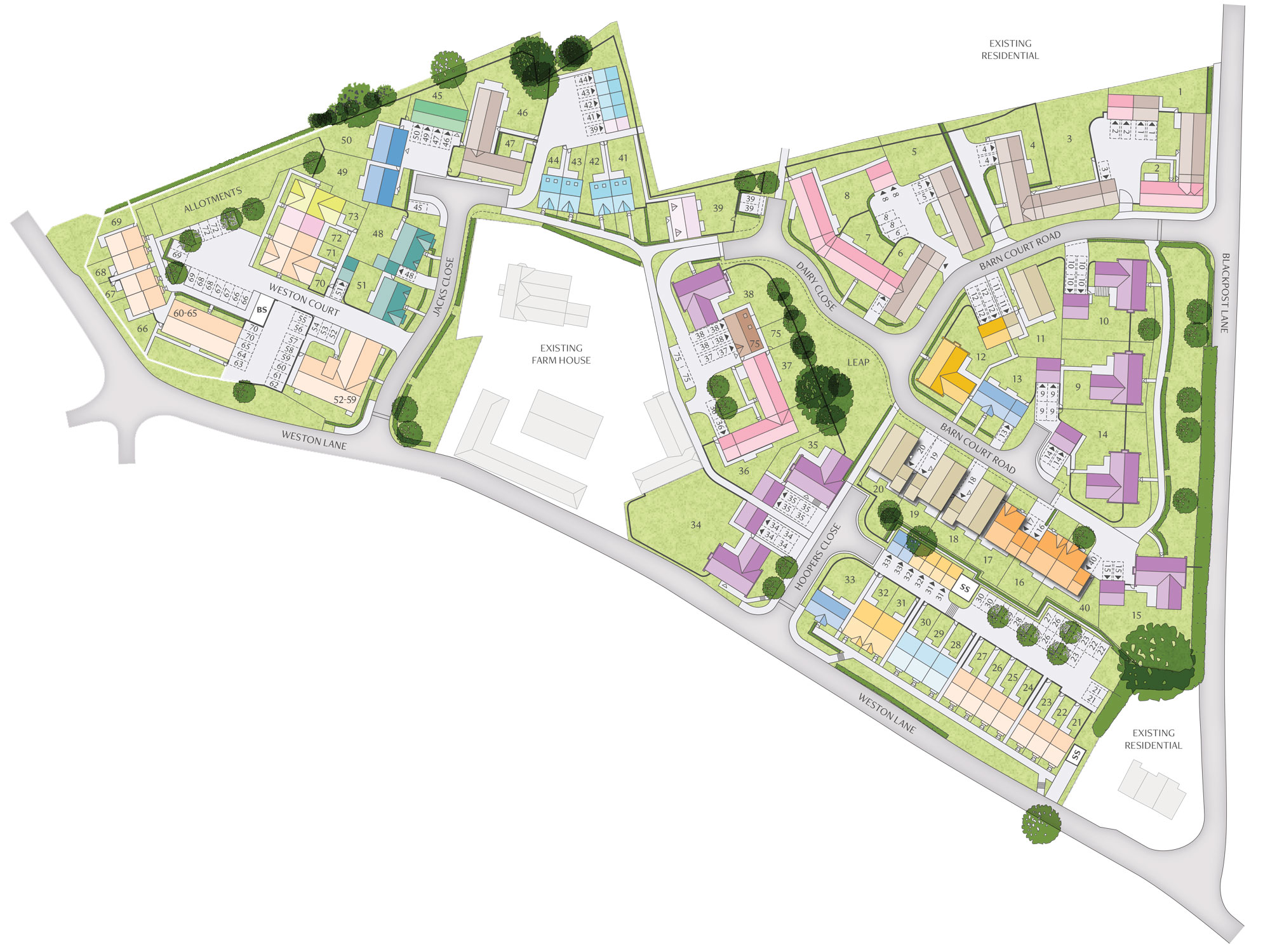 Development siteplan